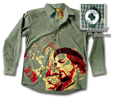 Che Guevara - Green Smoking