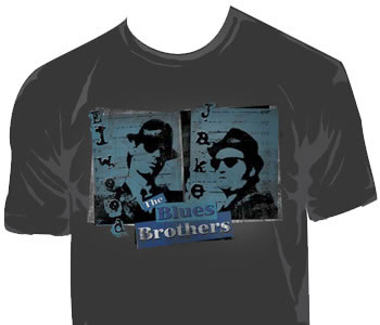 Blues Brothers - Blue Mug Shot
