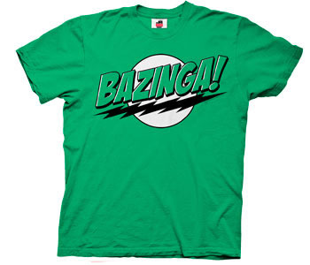 The Big Bang Theory - Bazinga Green