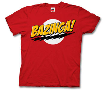 The Big Bang Theory - Bazinga Red