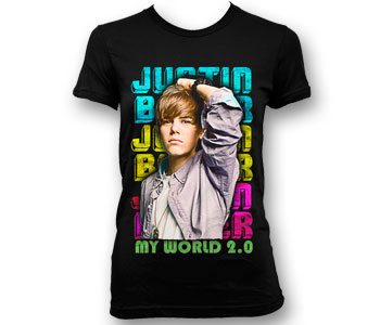 Justin Bieber - Repeat Name (Youth Sizes)