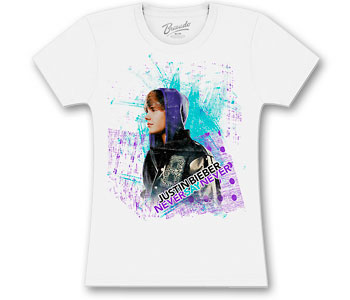 Justin Bieber - Brush Strokes (Women's/Junior Sizes)