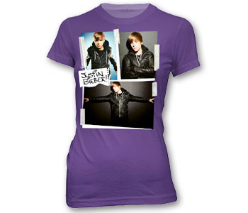 Justin Bieber -  Cut and Paste Leather Jacket (Youth Sizes)