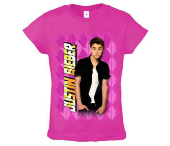 Justin Bieber - Argyle Pink (Youth Sizes)